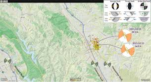 San Francisco On The Map by San Francisco Bay San Ramon Earthquake Swarm Jay Patton Online