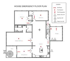 evacuation floor plan template home emergency evacuation plan homes floor plans