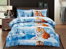 Faux Fur Comforter Tiger And Jungle Theme Bedding U2013 Ease Bedding With Style