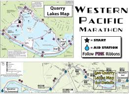 Boston Marathon Course Map by Race Info Western Pacific