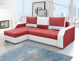 canape bicolore design canapé d angle convertible en tissu bicolore player