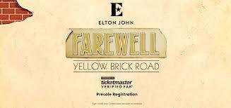 ticketmaster verified fan harry potter farewell yellow brick verified fan registration ticket master
