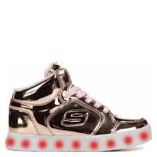 skechers energy lights high top sneaker pre grade school white