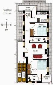 My Little Indian Villa 2014 16 X 50 Floor Plans