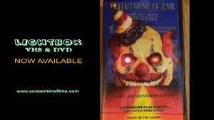 led horror dvd u0026 vhs lightbox screamtime films now available for