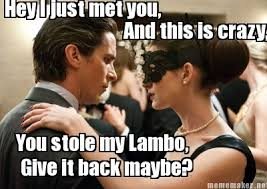 The Dark Knight Rises Meme - the dark knight rises catwoman call me maybe call me maybe know