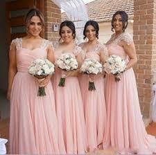 discount garden wedding dresses for bridesmaid 2017 long