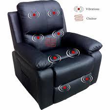 siege massant chauffant fauteuil relax 1 moteur chauffant massant releveur