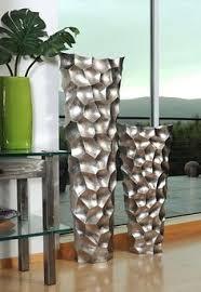 tall floor vase 36 inches wood gold leewadee http www amazon