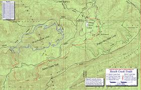 Bear Creek Trail Map Ouachita Mountains Trails The Compulsive Hiker