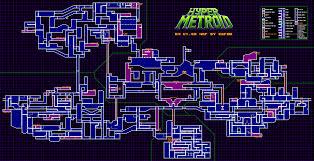 Metroid 2 Map Hyper Metroid