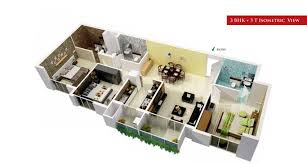 3 bhk apartment floor plan kg signature city mogappair