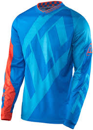 motocross jersey sale troy lee designs gp quest jersey blau orange motocross jerseys