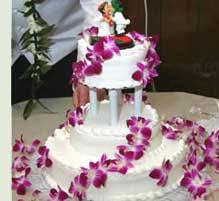 hawaiian themed wedding cakes tropical hawaiian theme wedding ideas
