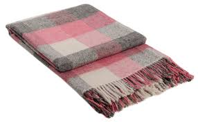 Plaids Stts International Blankets And Plaids Made From Acrylic With Wool