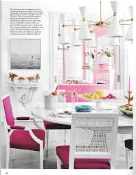 Housebeautiful Pink Perfection Suellen Gregory For House Beautiful York Avenue