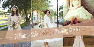 Wedding Dresses For The Older Bride Of The Most Vintage Tea Length Wedding Dresses For Older Bride