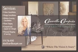 Certified Interior Decorator Carrillo Carpets