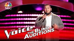 Blind Christian Female Singer The Voice 2016 Blind Audition Christian Cuevas