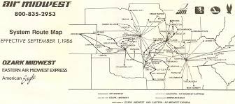 Silver Airways Route Map by Oklahoma Commercial Aviation Discussion 2013 Page 22