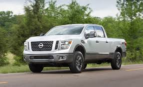 nissan cummins platinum 2016 nissan titan xd gas v 8 first drive u2013 review u2013 car and driver