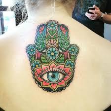 hamsa tattoo meaning with the most stylish hamsa hand tattoo color