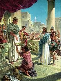 imagenes de jesus ante pilato poncio pilato nació en lorca por antonio de cayetano cosas de lorca