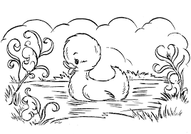 duckling coloring pages getcoloringpages