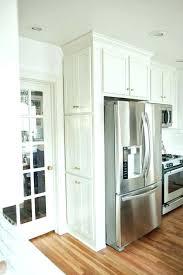 over refrigerator cabinet lowes refrigerator cabinet surround refrigerator cabinet panel medium size