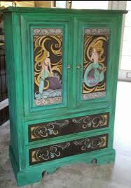 the life of an armoire u2026 painting art armoires and art nouveau