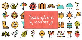 free download spring icons webdesigner depot