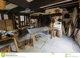 with cottage interior illustration interior of an ancient