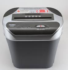 techko sh52408 docuguard paper shredder with waste bin ebth