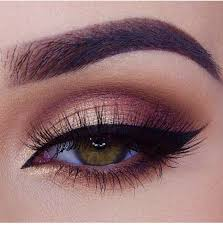 easy burgundy brown cut crease eye makeup pinterest cut