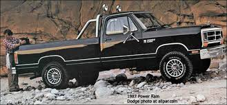 dodge trucks through the years ram dodge 1981 93 soldiering on cummins powered