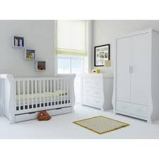 Nursery Furniture Set by Fresh White Babystyle Hollie Nursery Furniture Set Babythingz