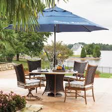 tommy bahama island estate lanai 4 person aluminum patio dining