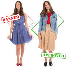 Comfortable Dress Code Dress Code Do They Even Make A Skirt That A Teen Would Actually