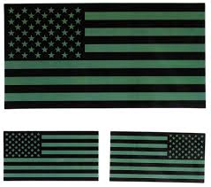 Black And White American Flag Thin Blue Line Black And White American Flag Sticker For Police