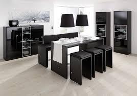 buffet cuisine noir buffet bois et noir cheap gallery of bureau angle ikea black with