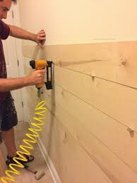 Shiplack Right Up My Alley Diy Ship Lap Wall For The Home Pinterest
