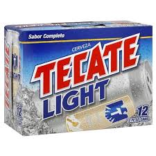 tecate light alcohol content tecate light beer 12pk 12oz cans target