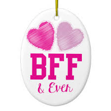 bff ornaments keepsake ornaments zazzle