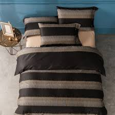 charming teen duvet cover cotton material black and brown colors