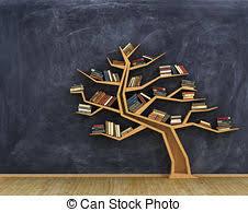 Tree Of Knowledge Bookshelf Bookshelf Stock Illustration Images 12 457 Bookshelf