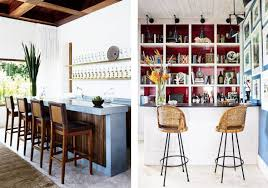 Elle Decor Celebrity Homes Trend Report Wet Bars Are Cool Again