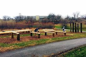 Backyard Obstacle Course Ideas Eagan U0027s Central Park Has New Fitness Obstacle Course U2013 Twin Cities