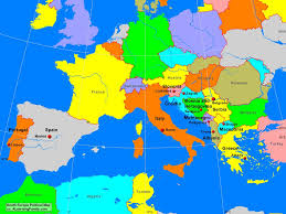 Political Map Of France by South Europe Political Map A Learning Family