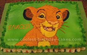Lion King Decorations Coolest Homemade Lion King Cakes