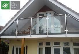 manufacturer side mount glass balcony railing terrace railing
